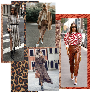 Animal print fashion trend