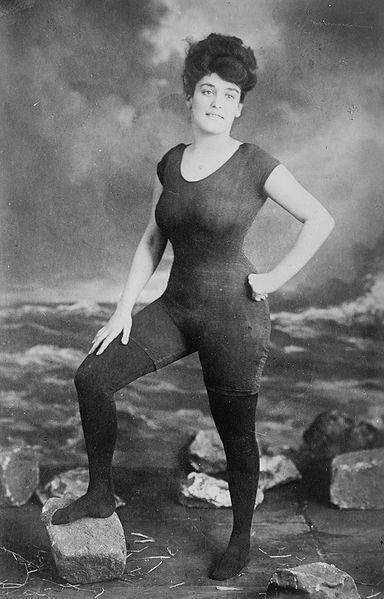 Swimwear in 1900