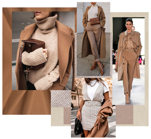 Beige fashion trend