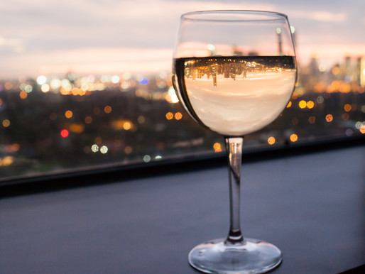 I want the glass of wine and the exciting professional life!