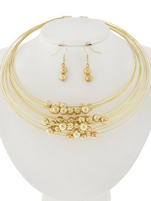Choker Necklace Set