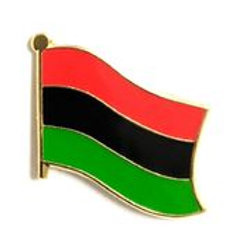 African American Flag Lapel Pin