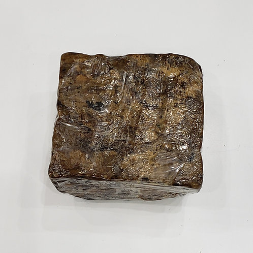 Large Raw African Black Soap
