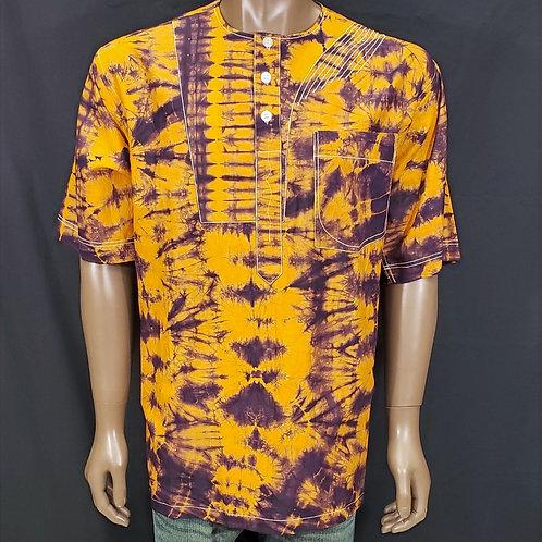 2XL Men's African Print Shirt