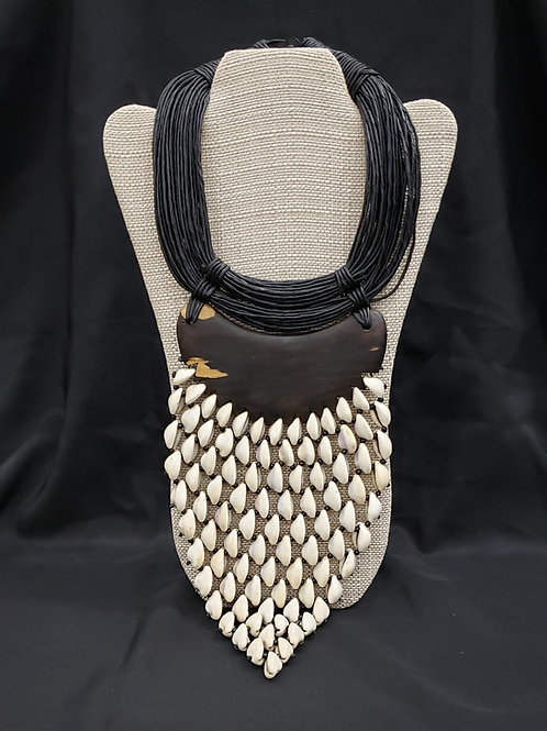 African Cowry Shell Necklace