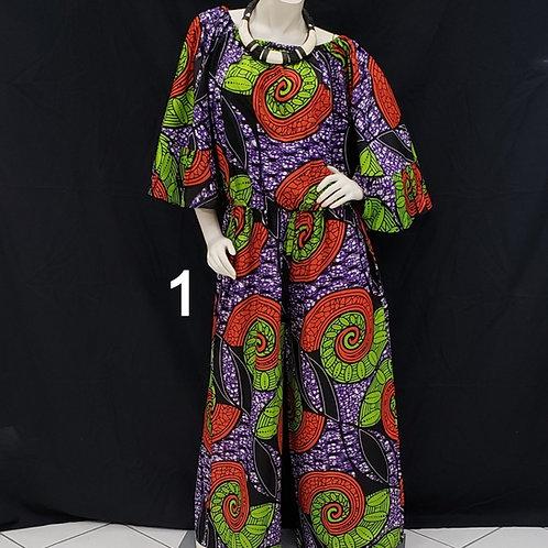 2pc African Print Pant Set