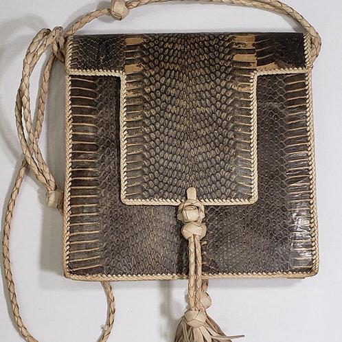 Snake Skin Handbag