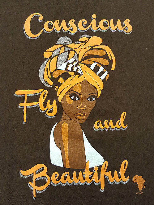 Conscious Fly and Beautiful