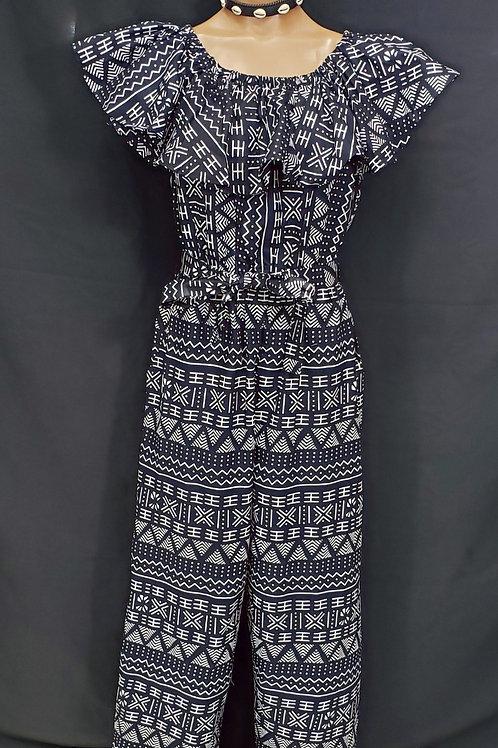 African Print Jumpsuit