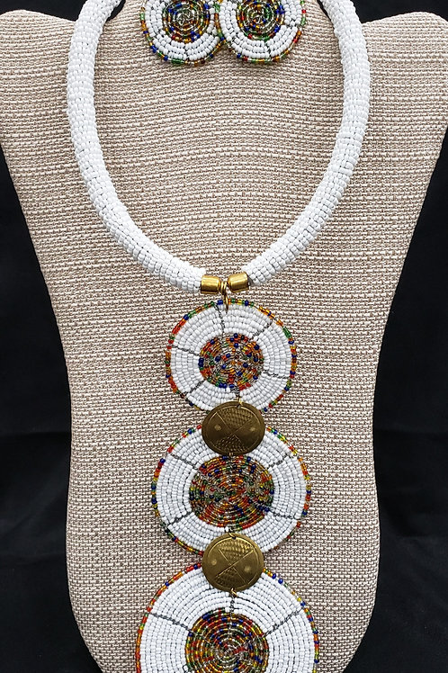 Maasai Necklace Set