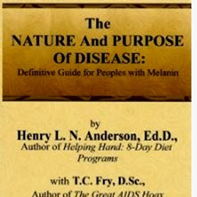 The Nature and Purpose of Disease