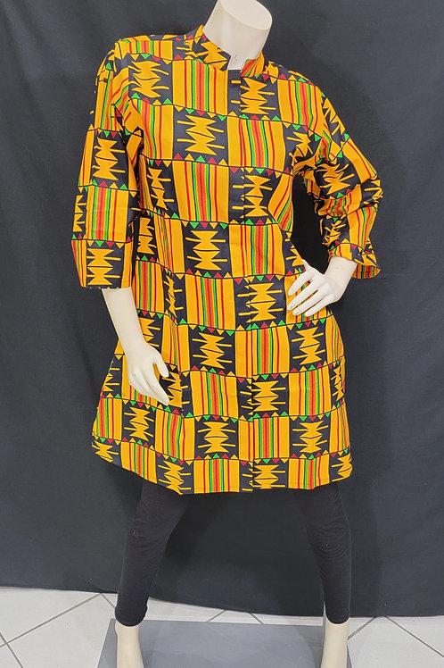 Kente African Print Top