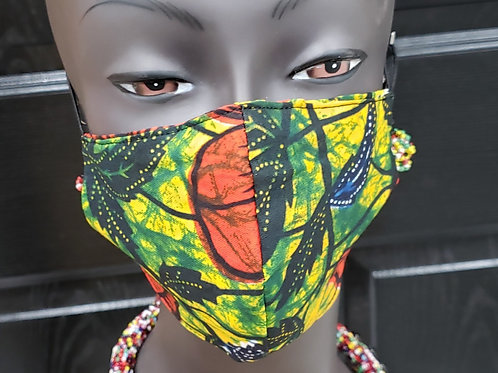 African Print Masks(Click on Photo to See Collection)