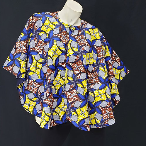 African Print Cape