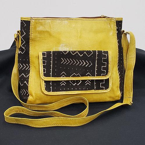 African Leather Handbag