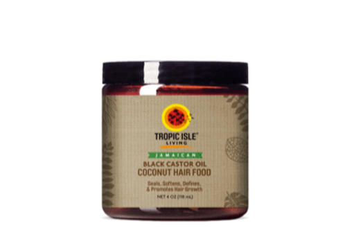 Jamaican Black Castor Coconut Hair Food
