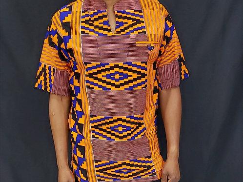 Men's African Print Dashiki