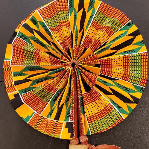 African Ankara Fan