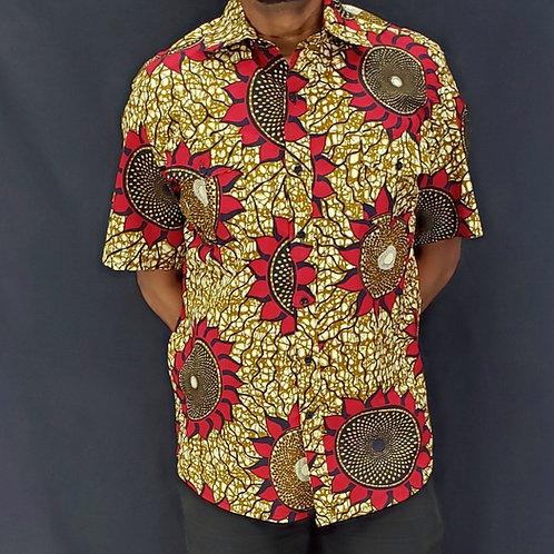 Men's African Print Shirt