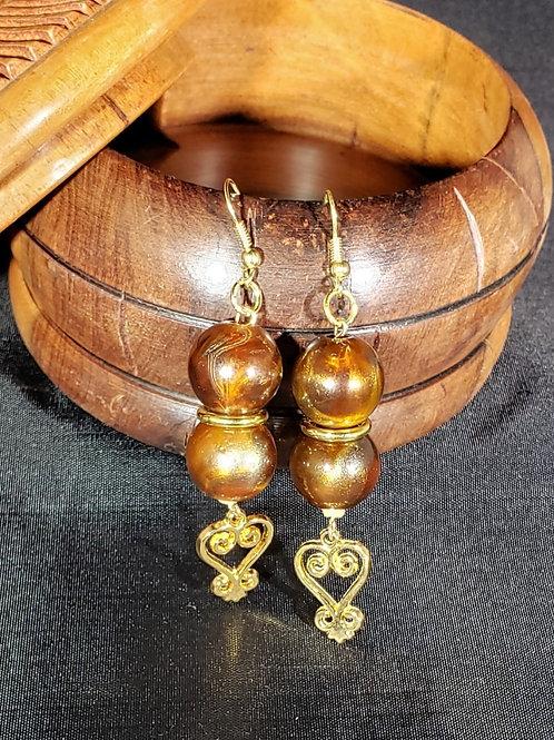 Sankofa Adinkra Earrings