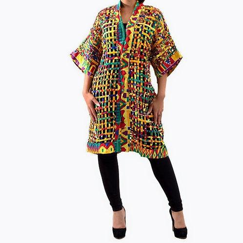 African Kente Jacket