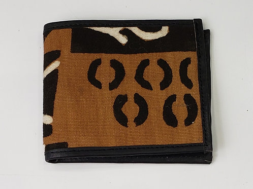 African Mudcloth Wallet