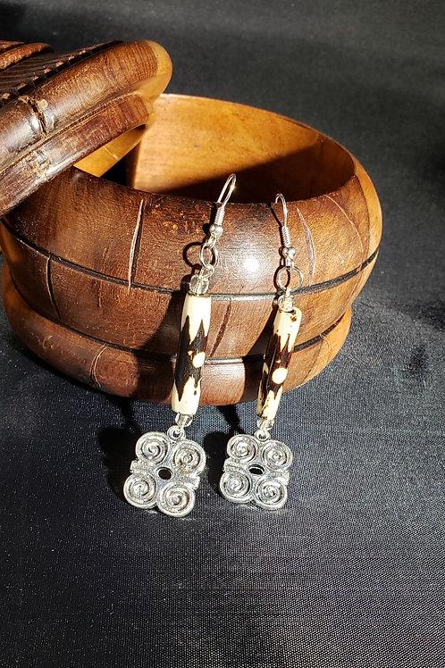 Dwennimmen Adinkra Earrings