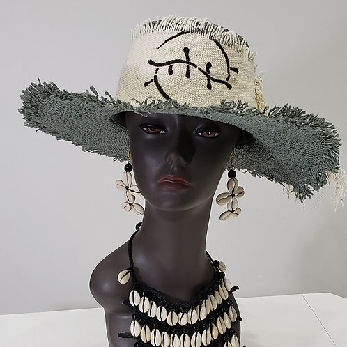 Ladies Mudcloth Hat