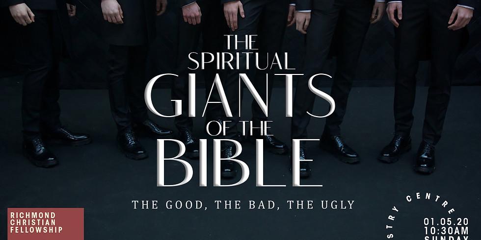 the Spiritual Giants of the Bible