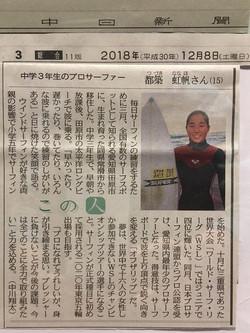 2018.12.08 中日新聞