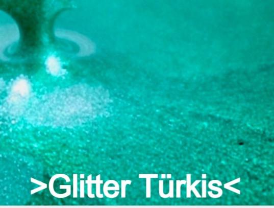 Glitter Türkis S Design