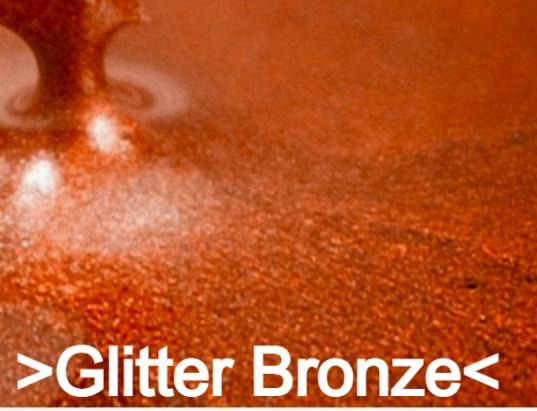 Glitter Bronze S Design