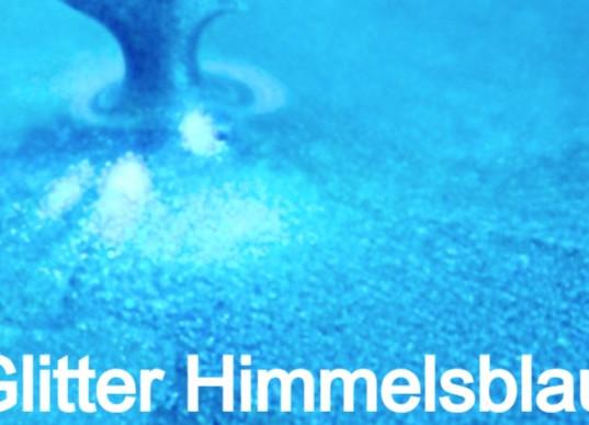 Glitter Himmelsblau S Design