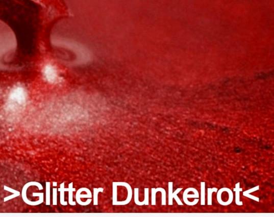 Glitter Dunkelrot S Design