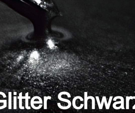 Glitter Schwarz S Design