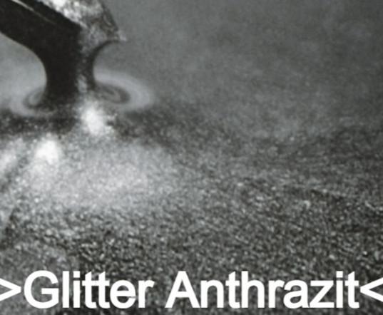 Glitter Anthrazit S Design
