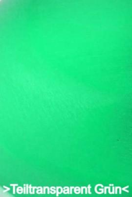 Teiltransparent Grün