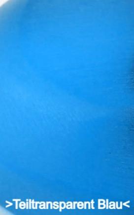 Teiltransparent Blau