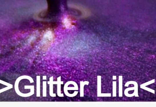 Glitter Lila S Design