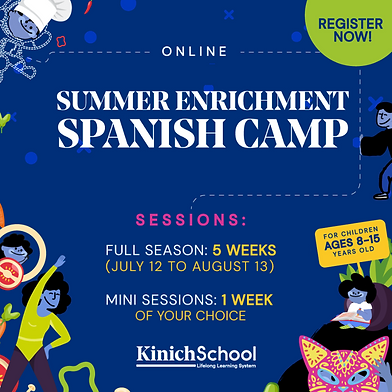 At Kinich School's Summer Enrichment Spa