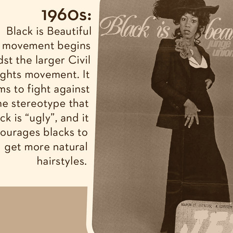 A Brief History of Black Hair