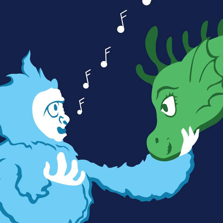 Nessie and Yeti