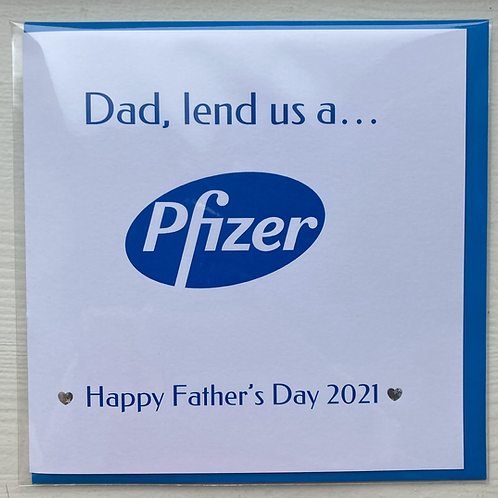 Dad, lend us a Pfizer