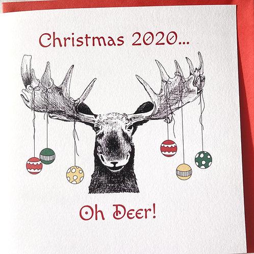 Christmas 2020 - Oh Deer!