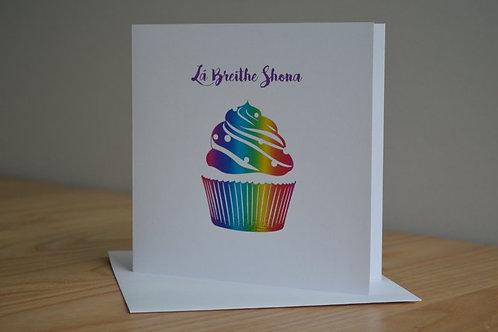 Lá Breithe Shona Cupcake
