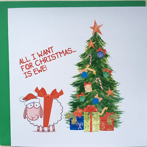 All I want For Christmas...Is Ewe!