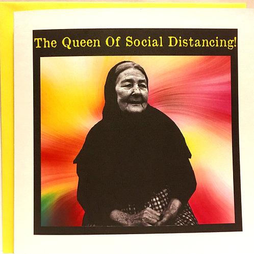 The Queen Of Social Distancing!