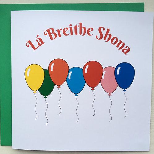 Lá Breithe Shona
