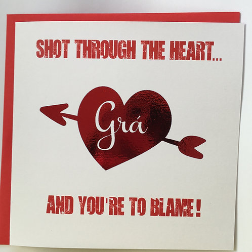 Shot Through The Heart...Grá