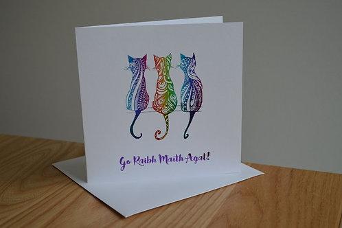 Go Raibh Míle Maith Agat - Cats